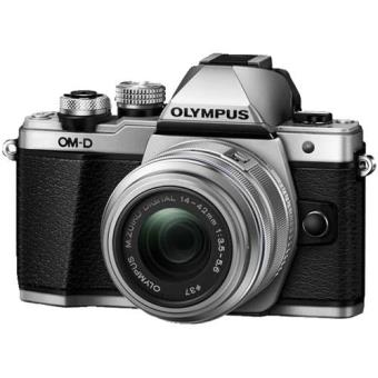 Olympus OM-D E-M10 Mark II + M.Zuiko Digital ED 14-42mm f/3.5-5.6 IIR (Prateado)