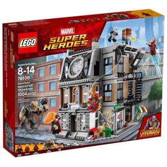 LEGO Marvel Super Heroes 76108 O Confronto no Sanctum Sanctorum
