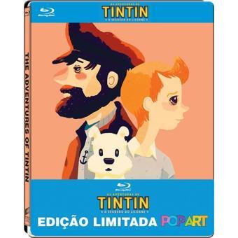 As Aventuras de Tintin: O Segredo do Licorne - Edição Limitada Pop Art (Blu-ray)