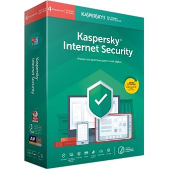 Anti-Virus Kaspersky Internet Secury 2019 - 4 Dispositivo - 1 Ano