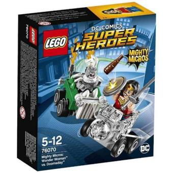 LEGO DC Comics Super Heroes 76070 Micros Poderosos: Wonder Woman vs. Doomsday