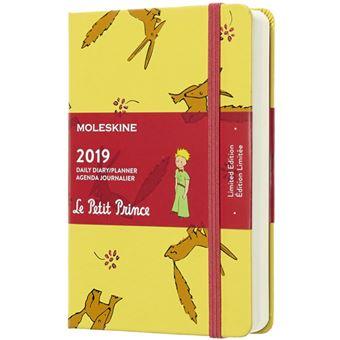 Agenda Diária 2019 Moleskine Le Petit Prince Bolso