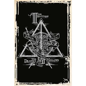 Poster Harry Potter: Deathly Hallows Symbol