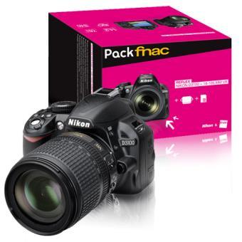 Nikon D3100 AF-S DX 18-105mm f/3.5-5.6 VR Pack Fnac