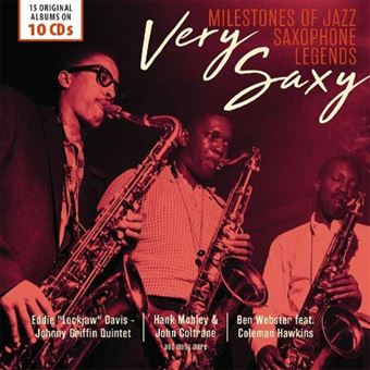 Very Saxy: Milestones of Jazz Saxophone Legends - 10CD