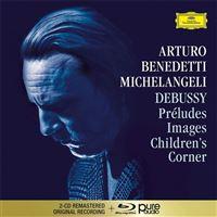 Debussy: Préludes I & II, Images I & II, Children's Corner - 2CD + Blu-ray