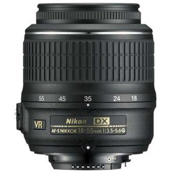 Nikon Objetiva AF-S DX NIKKOR 18-55mm f/3.5-5.6G VR (Bulk)