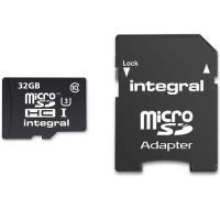 Cartão microSDHC Integral 32GB Classe 10 95/90MB/s