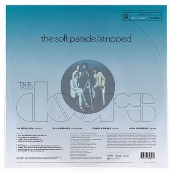 The Soft Parade: Stripped - LP 180g Clear Vinil 12''
