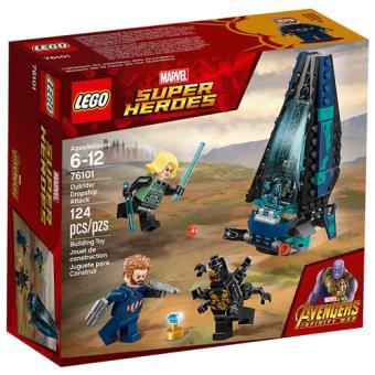 LEGO Marvel Super Heroes 76101 Ataque à Escolta de Cargueiro