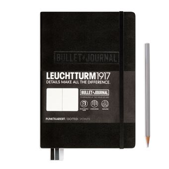 Caderno Pontilhado Leuchtturm Bullet Journal A5 Preto