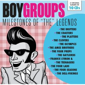 Boy Groups: Milestones of The Legends - 10CD