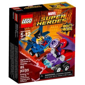 LEGO Marvel Super Heroes 76073 Micros Poderosos: Wolverine vs. Magneto