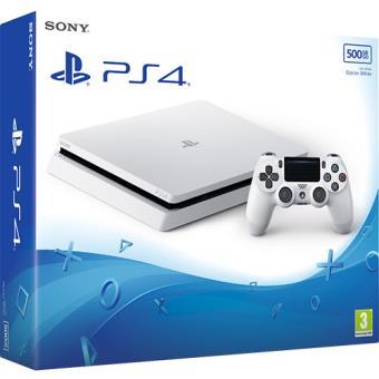 Consola Sony PS4 Slim 500GB Branca / Glacier White