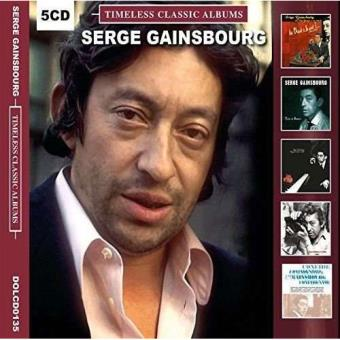 Timeless Classic Albums: Serge Gainsbourg - 5CD