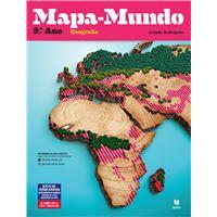 Mapa-Mundo Geografia 9º Ano - Manual do Aluno