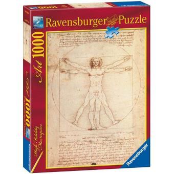Puzzle Leonardo Da Vinci: O Homem de Vitrúvio - 1000 Peças