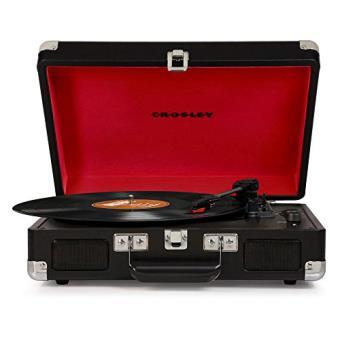 Crosley Cruiser Deluxe Gira-discos - Preto