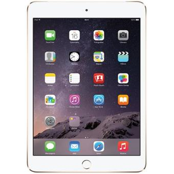 Apple iPad Mini 3 - 128GB Wi-Fi + Cellular (Dourado)
