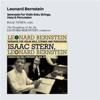 Serenade for Violin Solo, Strings, Harp & Percussion - CD