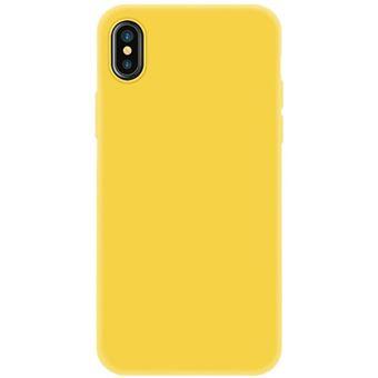 Capa 4-OK Silk 0.2 para iPhone XS Max - Amarelo