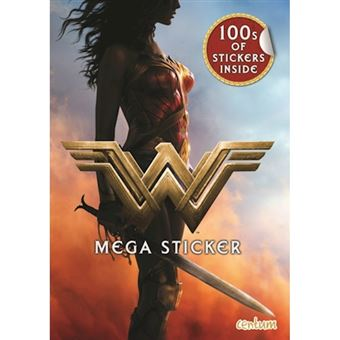 Wonder woman mega sticker book