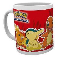 """Pokémon - Caneca """"Fire Partners"""""""