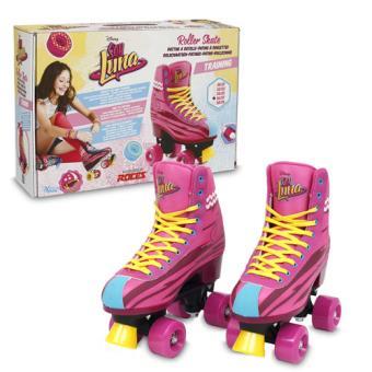 soy luna patins roller train tamanho 36 37 patins. Black Bedroom Furniture Sets. Home Design Ideas