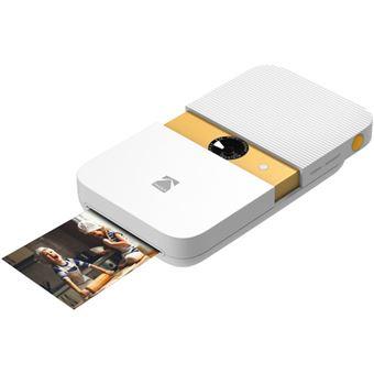 Câmara Instantânea Kodak Smile - Branco   Amarelo