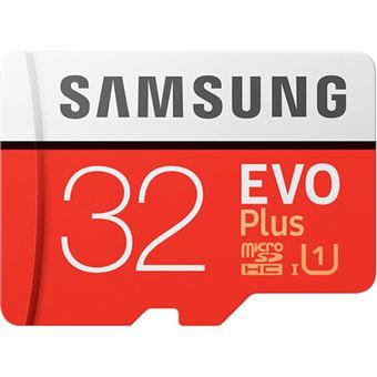Cartão Memória MicroSDHC Samsung Evo Plus U1 - 32GB