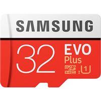 Cartão Memória MicroSDXC Samsung Evo Plus U1 - 32GB