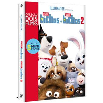Pack A Vida Secreta dos Nossos Bicho 1 + 2 - DVD