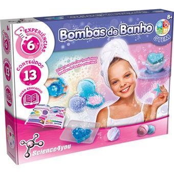 Bombas de Banho - Science4you