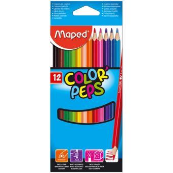 Lápis de Cor Maped Color'Peps - 12 Unidades