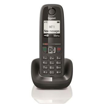 Telefone Sem Fios Gigaset DECT AS405 - Preto