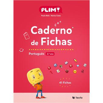 Plim! Português 2º Ano - Caderno de Fichas
