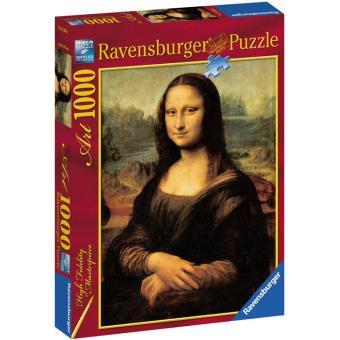 Puzzle Leonardo Da Vinci: Mona Lisa