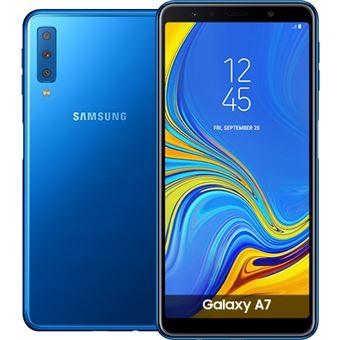 Smartphone Samsung Galaxy A7 - A750 - Azul