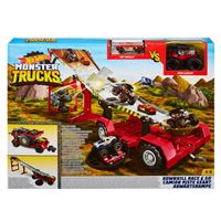 Hot Wheels Monster Trucks Mobile Downhill Race - Mattel