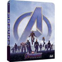 Avengers: Endgame - Edição Steelbook - Blu-ray 3D + 2D + Blu-ray Bonus Importação