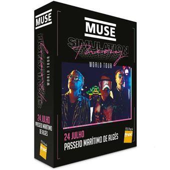Fã Pack Fnac Muse – Plateia B (Preço: 56.29€ Pack + 4.15€ Custos de Operação)
