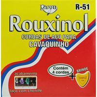 Cordas de Aço para Cavaquinho R51 Rouxinol