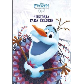 Frozen: Uma Aventura de Olaf - História Para Colorir