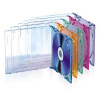 TnB Caixas CD Slim Coloridas - 25 uni