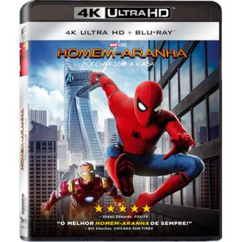 Homem-Aranha: Regresso a Casa (4K Ultra HD + Blu-ray)