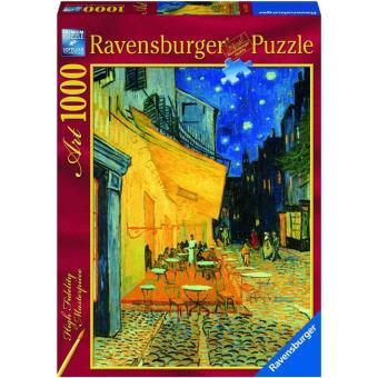 Puzzle Vincent Van Gogh - Cafe Terrace at Night - 1000 Peças
