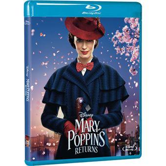 Mary Poppins Returns | O Regresso de Mary Poppins - Blu-ray Importação