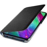 Capa Flip Samsung Wallet para Galaxy A40 - Preto