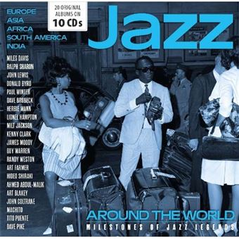 Jazz Around The World - Milestones of Jazz Legends - 10CD
