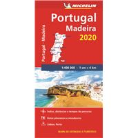 Mapa Michelin Portugal Madeira 2020